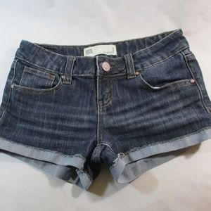 Pants - RSQ Blue Denim Distressed Malibu Shorts 3